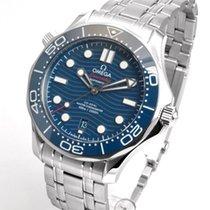Omega Seamaster Diver 300 M neu 2019 Automatik Uhr mit Original-Box und Original-Papieren 210.30.42.20.03.001