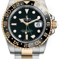 Rolex 116713LN Gold/Steel GMT-Master II 40mm pre-owned United States of America, New York, NEW YORK