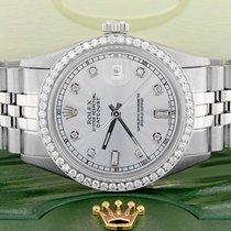 Rolex Datejust Acero 36mm Plata