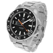 TAG Heuer Aquaracer 500M Staal 43mm Zwart