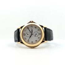 Patek Philippe Travel Time Oro amarillo 37mm Blanco Arábigos España, Madrid