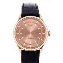 Rolex Cellini Time Rose gold 39mm Gold