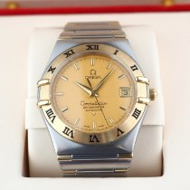 Omega Constellation Gold/Steel 36mm Champagne