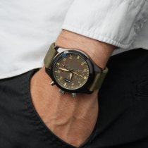 IWC Pilot Chronograph Top Gun Miramar tweedehands 46mm