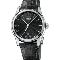 Oris Artelier Date Steel 40mm Black No numerals