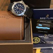 Breitling Avenger II GMT Steel 43mm Blue United States of America, Connecticut, Danbury