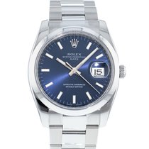 Rolex Oyster Perpetual Date Steel 34mm Blue United States of America, Georgia, Atlanta