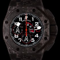 Audemars Piguet Royal Oak Offshore Chronograph occasion 44mm Noir Chronographe Caoutchouc