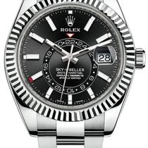 Rolex Sky-Dweller Steel 42mm Black No numerals