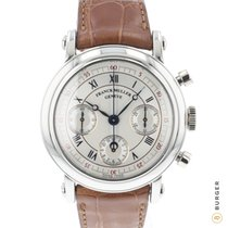Franck Muller Platinum Automatic Silver Roman numerals 39mm pre-owned
