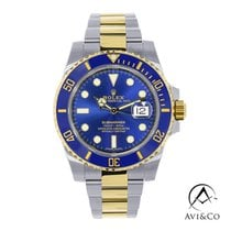 Rolex Submariner Date Steel 40mm Blue No numerals United States of America, New York, New York