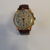 Chronographe Suisse Cie Or jaune Remontage manuel Or (massif) 38mm occasion