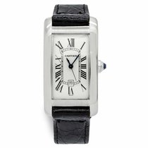 Cartier Tank Américaine White gold 23mm White Roman numerals United States of America, New York, New York