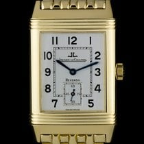 Jaeger-LeCoultre 18k Yellow Gold Reverso Gents B&P 270.1.62