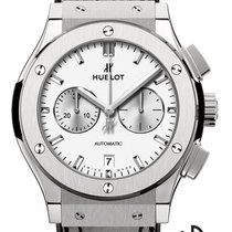 Hublot Classic Fusion Chronograph Titan 42mm Weiß