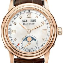 Blancpain Léman Moonphase Rose gold 34mm Mother of pearl United States of America, New York, Airmont