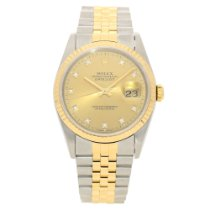 Rolex Datejust 16233 - Gents Watch - Diamond Dial - 1991