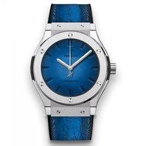 Hublot Classic Fusion  Berluti Blue Limited Edition of 500...