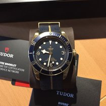 Tudor Heritage Black Bay Bronze Blue Bucherer Limited Edition
