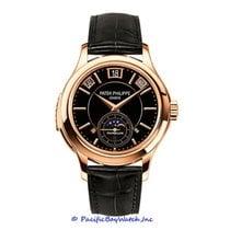 Patek Philippe Minute Repeater Perpetual Calendar Rose gold 41mm Black