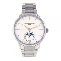 Frederique Constant Slimline Moonphase S.Steel Automatic Mens...