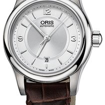 Oris Classic Steel 28.5mm Silver United States of America, New York, Airmont