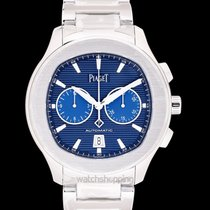 Piaget Polo S Chronograph Blue Steel 42mm - G0A41006