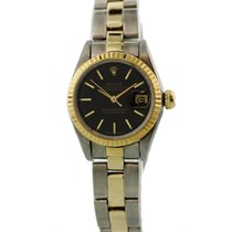Rolex Lady-Datejust pre-owned 26mm Black Date Steel