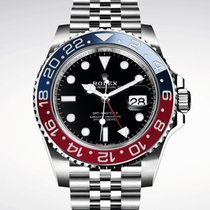 Rolex GMT Master II Pepsi 126710BLRO NEW