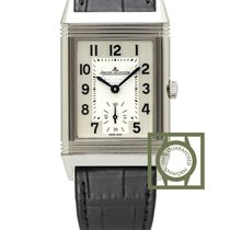 Jaeger-LeCoultre Reverso Classic Small Staal 42.9mm Zilver Arabisch