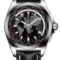 Breitling Galactic Unitime neu Automatik Uhr mit Original-Box und Original-Papieren WB3510U4/BD94/743P