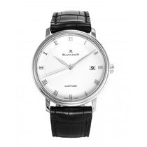 Blancpain Villeret Ultra-Slim Steel 38mm White Roman numerals United States of America, New York, New York