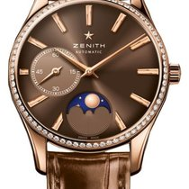 Zenith ELITE HERITAGE ULTRA THIN lady moonphase 33mm rose gold