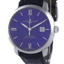Ulysse Nardin pre-owned Automatic 40mm Sapphire crystal 3 ATM