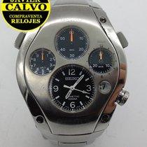 Seiko Chronograph 41mm Quartz pre-owned Sportura