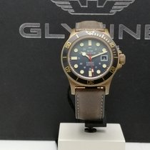 Glycine Bronze Automatic Green No numerals 42mm new Combat SUB