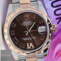 Rolex Lady-Datejust pre-owned Rose gold