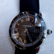 Cartier подержанные Автоподзавод 42mm Cерый Сапфировое стекло 10 атм