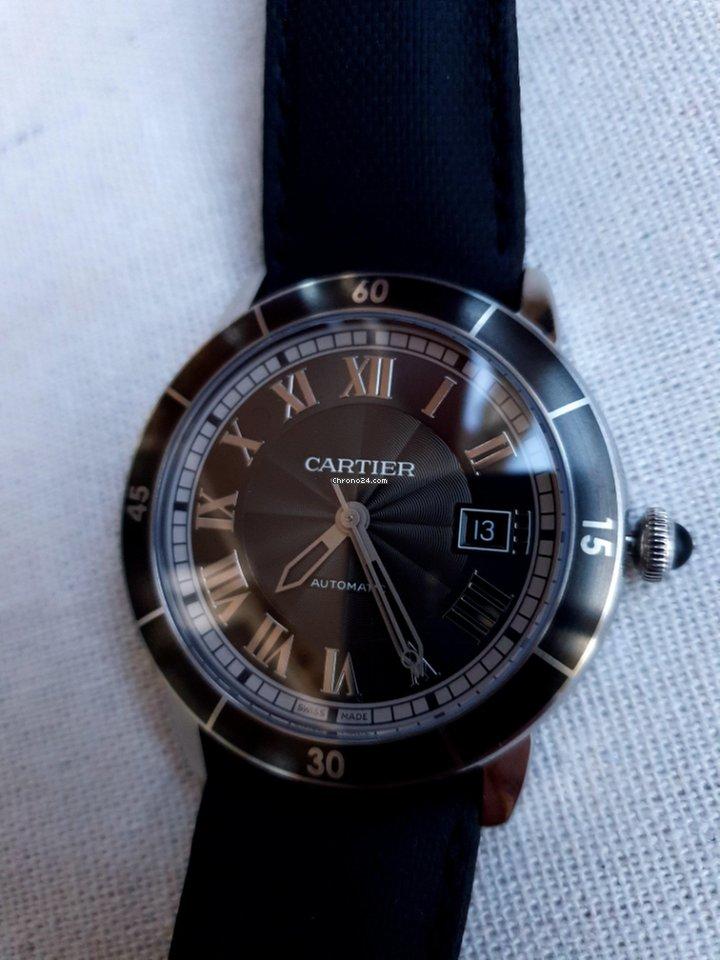 Подержанные часы Cartier