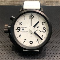 U-Boat Chronograph 50mm Automatic pre-owned Flightdeck White