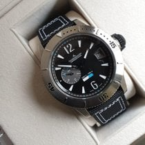 Jaeger-LeCoultre Master Compressor Diving GMT Titanium 46mm Black Arabic numerals