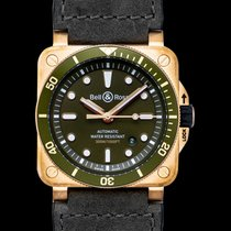 Bell & Ross BR 03 BR0392-D-G-BR/SCA new