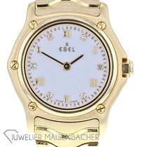 Ebel Classic Yellow gold 23mm White Roman numerals