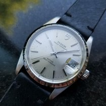 Tudor Prince Oysterdate Stahl 34mm Silber
