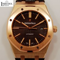 Audemars Piguet 15400or.oo.d002cr.01 Roségold 2015 Royal Oak Selfwinding 41mm gebraucht