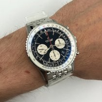 Breitling Navitimer 1 B01 Chronograph 43 Steel 43mm Black No numerals United States of America, New York, NYC