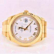 Rolex Day-Date II Zuto zlato 41mm Zut Rimski brojevi