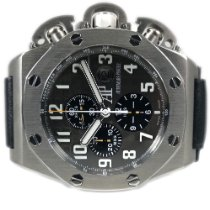 Audemars Piguet Titanium Automatic Black pre-owned Royal Oak Offshore Chronograph