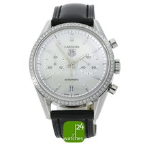 TAG Heuer Carrera Calibre 17 Steel 38mm Mother of pearl No numerals