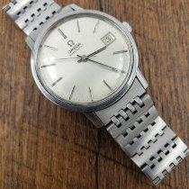 Omega Genève Steel 35mm Silver No numerals United States of America, Alabama, Arab